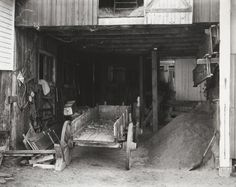 Paul Strand (American, 1890–1976), Tools of the Farm, West River Valley, Vermont, 1944 (negative) / early to mid-1980s (print), gelatin silver print, 7 5/8 × 9 5/8 inches. Philadelphia Museum of Art, The Paul Strand Collection, partial and promised gift of Marguerite and Gerry Lenfest, 2009-160-819. © Paul Strand Archive/Aperture Foundation