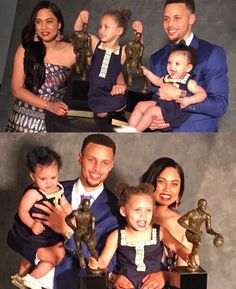 Curry Fam celebrating Steph's back-to-back wins!