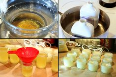 Wood Butter – A Recipe for Your Utensils!   I think this would be a great idea in small jars for gift baskets.