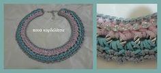 statement crochet necklace