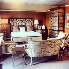 Transitional Bedroom At Louisiana Furniture Gallery  Lafayette, LA