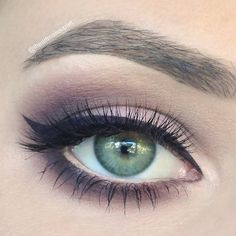 Plum based shadow and liner are used to create this gorgeous formal ready eye makeup. Discover the must-have products needed to recreate this look for your next party.