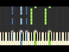 Lana Del Rey's Blue Jeans - Piano Tutorial - YouTube