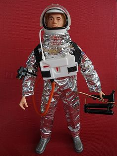 G.I. Joe Astronaut - I had this with the space capsule.
