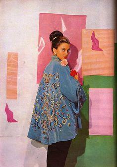 Vogue Nov 1949 Actress Linda Christian (Mrs Tyrone Power)