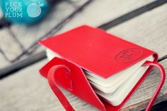 Read Us Like a Book - Engraved Leather Books #leather #book pickyourplum.com