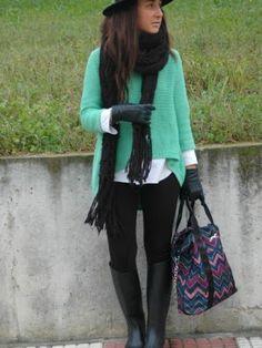 itziargonzalez Outfit   Invierno 2012. Cómo vestirse y combinar según itziargonzalez el 21-1-2013