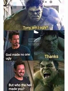 Marvel is at the top of ladder when it comes to movies. Out of these amazing movies of marvel, we can make as many memes as we want to because memes will be perfect at topics which are famous worldwide. Here are 22 Marvel memes clean. Marvel Jokes, Avengers Humor, Funny Marvel Memes, Dc Memes, Funny Comics, Hulk Memes, Find Memes, Funny Disney Memes, Crazy Funny Memes