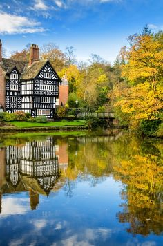 Autumn in Worsley, Greater Manchester, England
