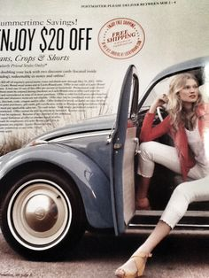 Lucky Brand ad