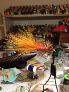Wooly bugger brun