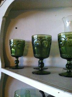 Green glasses