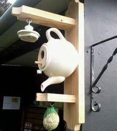 Teapot birdhouse | Garden-Ideas | Pinterest