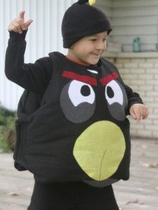 DIY angry bird costume... Deanna this is perfect for Dom!