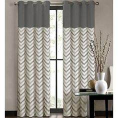 Colordrift Tribal Stripe Grommet-Top Curtain Panel - jcpenney