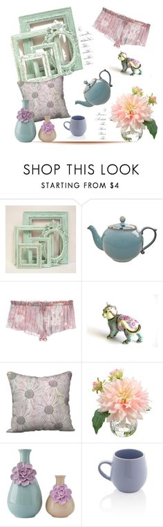 """Pastel'"" by dianefantasy ❤ liked on Polyvore featuring interior, interiors, interior design, home, home decor, interior decorating, Denby, AM, Franklin and Sabichi"