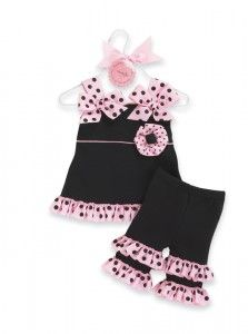 Mud Pie Baby Princess Tunic Capri Outfit - My Pink Baby Boutique