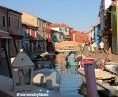 Buon lunedì da #Burano #nomondayblues