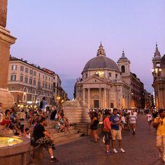Plaza Del Popolo, Rome