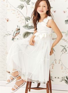 Next White Embellished Occasion Dress