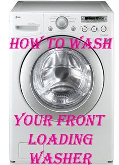 How To Clean Your Front Loading Washer and Get Rid of That Smell! - MyThirtySpot