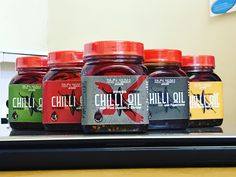 Flavoured Chilli Oils to make your food taste awesome!  Check out our flavours at sunwahfoods.co.uk  #chillioil #spices #chilli #food #condiments #tasty Chilli Food, Drink Bottles, Spices, Tasty, Sun, Make It Yourself, Drinks, Awesome, Check