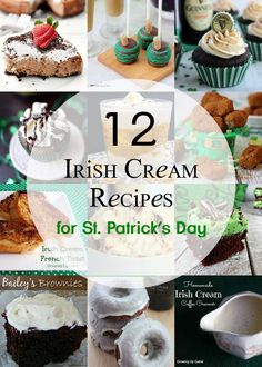 Have a left over bottle of Bailey's Irish cream? Use it up with one of these delicious Irish cream recipes! From cakes to smoothies - you're sure to find a winner.