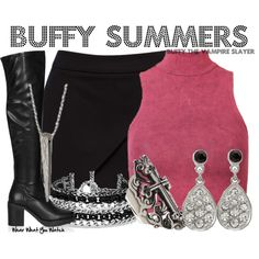 """Buffy Summers (Buffy the Vampire Slayer)"" by wearwhatyouwatch on Polyvore"