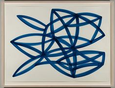 Agnes Barley Untitled Collage (Monochromes Blue) 3, 2013 BARL032 acrylic on paper, 22 x 30 inches/ 25 x 33 inches framed 2 / 36 More Works