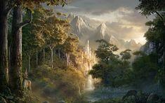 fantasy landscape | Art fantasy wallpaper scenery wallpapers Fantasy HD Wallpaper ...