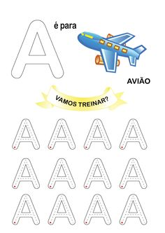 Treinando motricidade com vogais em BASTÃO.                 Na próxima postagem as consoantes.