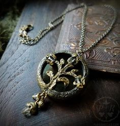 The necklace she is given
