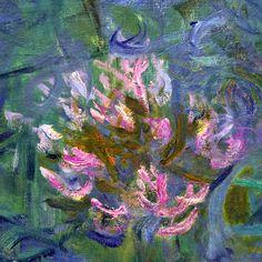 Agapanthus (detail) by Claude Monet | Lone Quixote | #art #arte #artists…