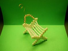 Manger Chrismons Ornament home size adapted from the Emmanuel Chrismons Ornament. ALC