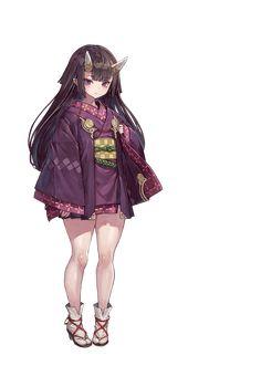 Female Character Design, Character Design Inspiration, Character Art, Kawaii Anime Girl, Anime Art Girl, Girls Characters, Female Characters, Demon Manga, Anime Kimono