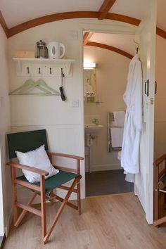 Shropshire Shepherd's Hut | Much Wenlock Accommodation | Coppice View Bed & Breakfast