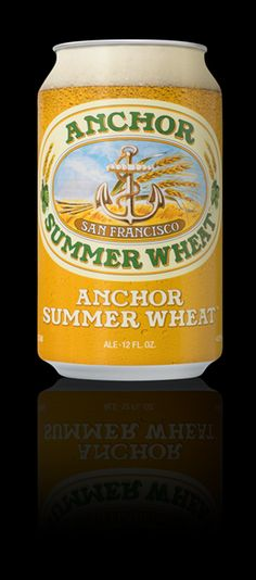 mybeerbuzz.com - Bringing Good Beers & Good People Together...: Anchor Brewing Releases Summer Wheat Cans