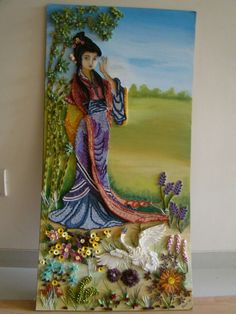 Beautiful quilling piece