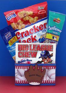 Baseball Treat Favor Box