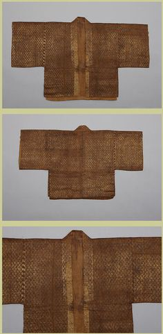 Woman's Jacket with Gold Rosettes, dated 1312, Yuan dynasty 元代 (1271–1368), China