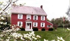 Red house. Leaning towards red right now. Maybe someday I'll get around to painting my house.