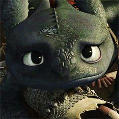 You can't resist the face . . . of an adorable and utterly, irresistibly cute Night Fury. lol XD