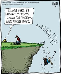 Golf is full of golf jokes and witty golf puns! This board covers everything from golf humor, golf quotes, funny golf me Golf Humor, Sports Humor, Funny Golf, Golf Party, Humor Videos, Memes Humor, Funny Humor, Funny Cartoons, Funny Stuff