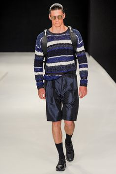 James Long Spring 2014 Menswear Collection I think it's one of the most beautiful pullovers of spring 2014 collections