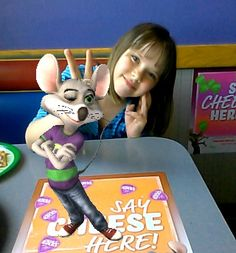 """So apparently """"Chuck E. Cheese"""" has a Pinterest. I mean do they think the kids will literally believe the mouse is pinning all the stuff?"""