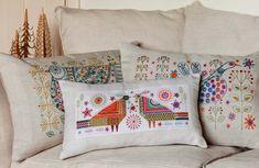 Nancy Nicholson new embroidery kit designs