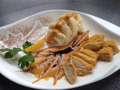 Putenschnitzel an Orangencreme | gregcheck's blog