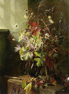 Bertha Wegmann - Last Greeting of Autumn