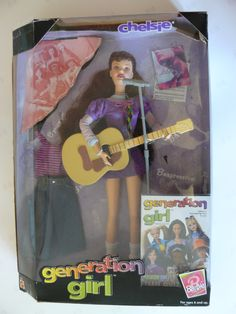 Chelsie Generation Girl Barbie doll (1998) - Chelsie