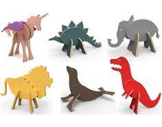 Topozoo 3D puzzles